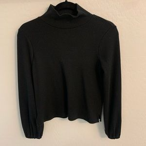 Madewell Sweaters - Madewell mock neck black sweater